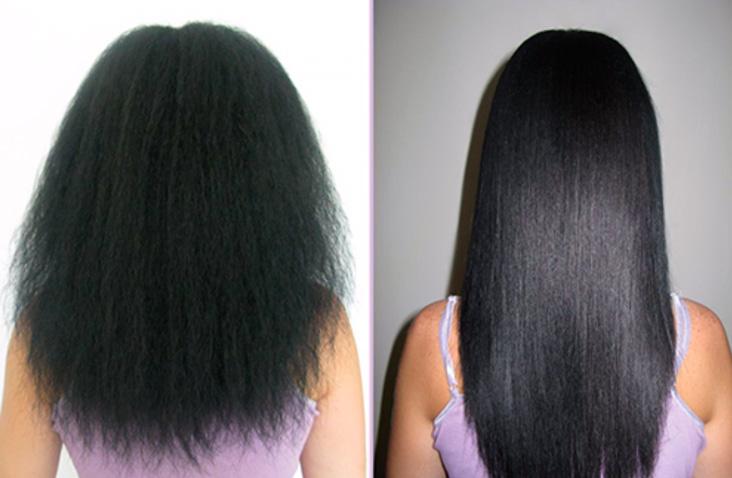 Бразильское выпрямление волос лечение